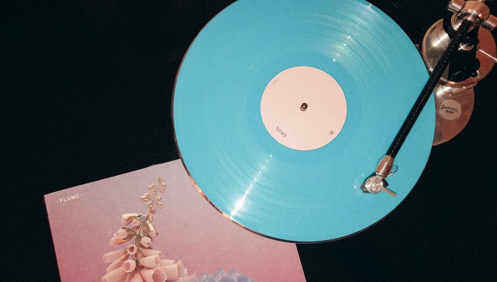 Schallplattenladen-Flume